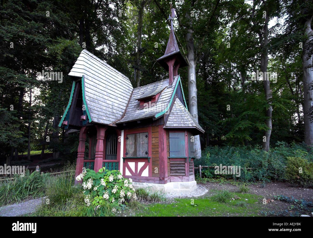 Hexenhaus In Der Stadt Garten Von überlingen An Der Rheingletsscher