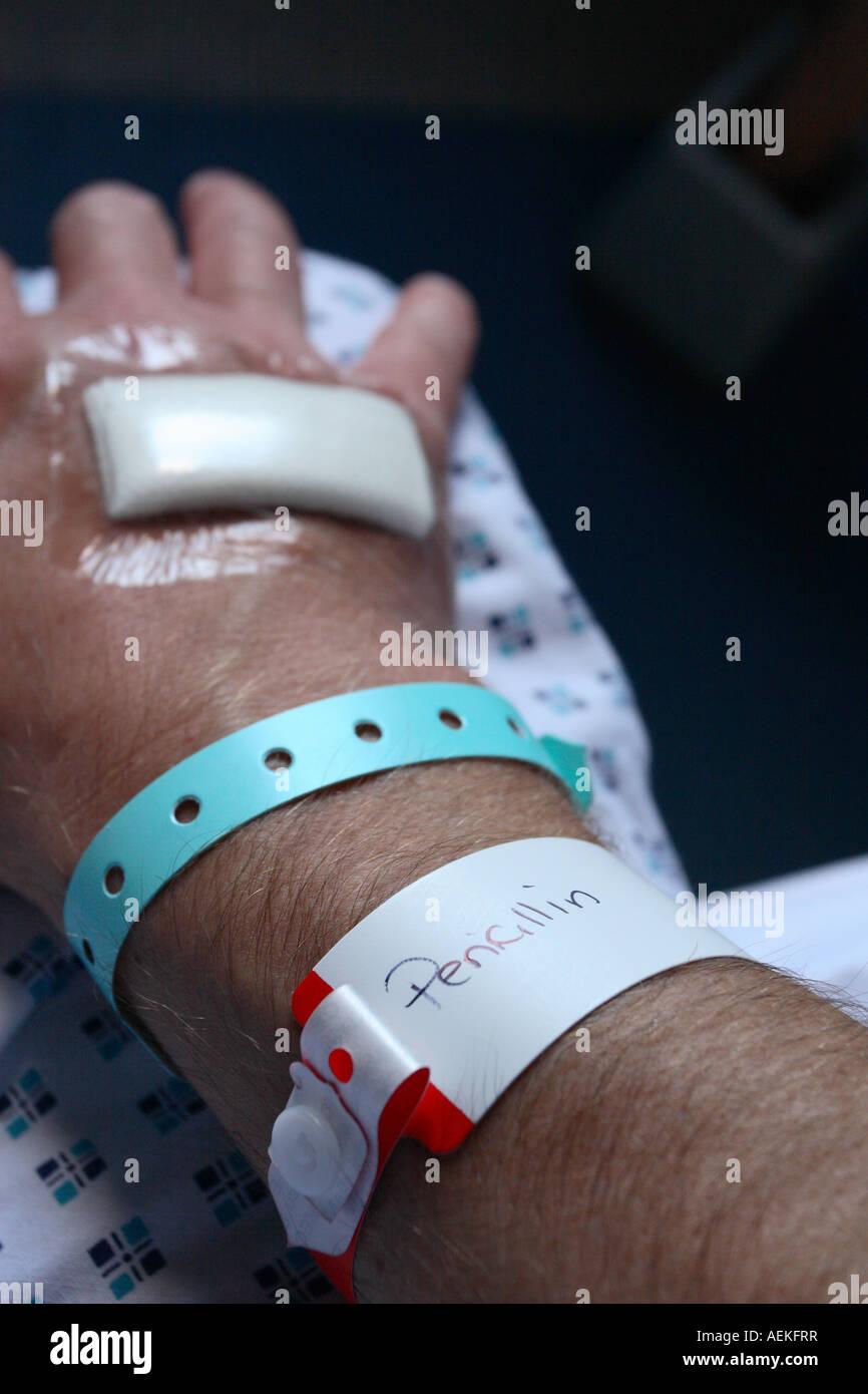 penicillin allergie armband