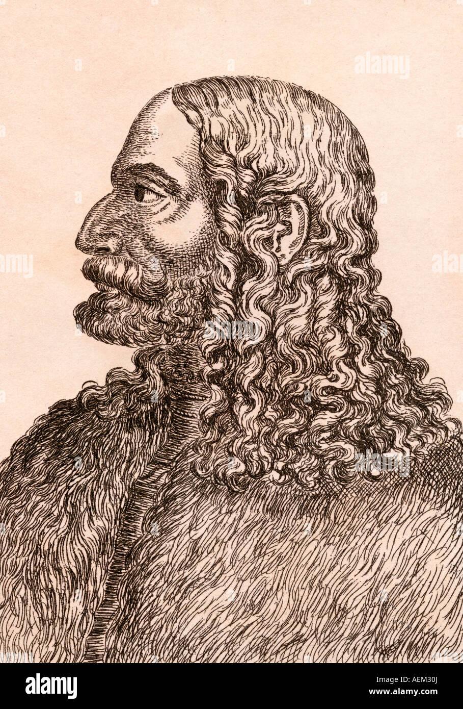 Albrecht Dürer 1471 1528 deutscher Künstler und Mathematiker Stockbild