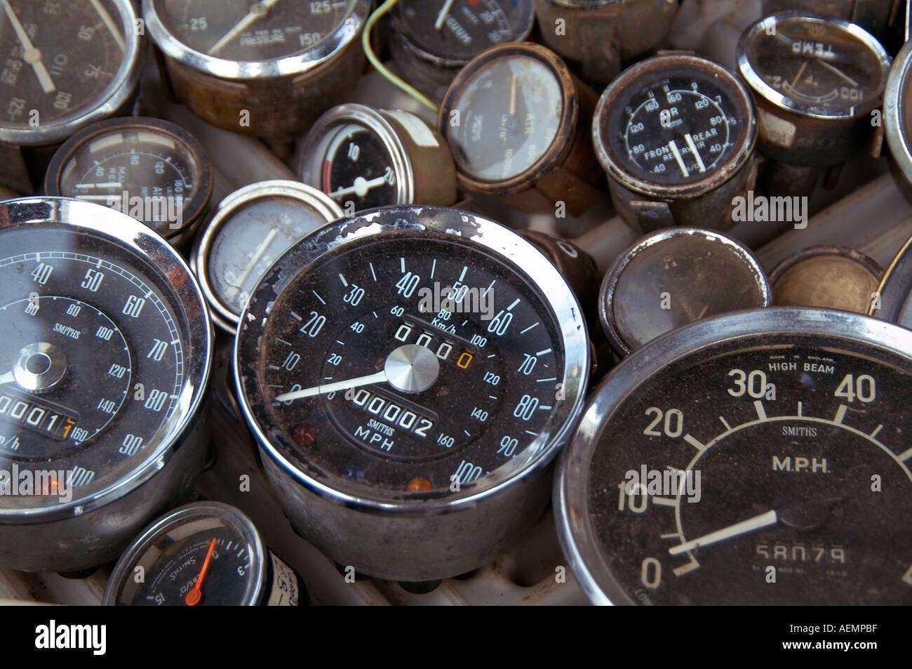 Armaturenbrett auto  Speedo Messgerät Geschwindigkeit Beschleunigung Auto ...
