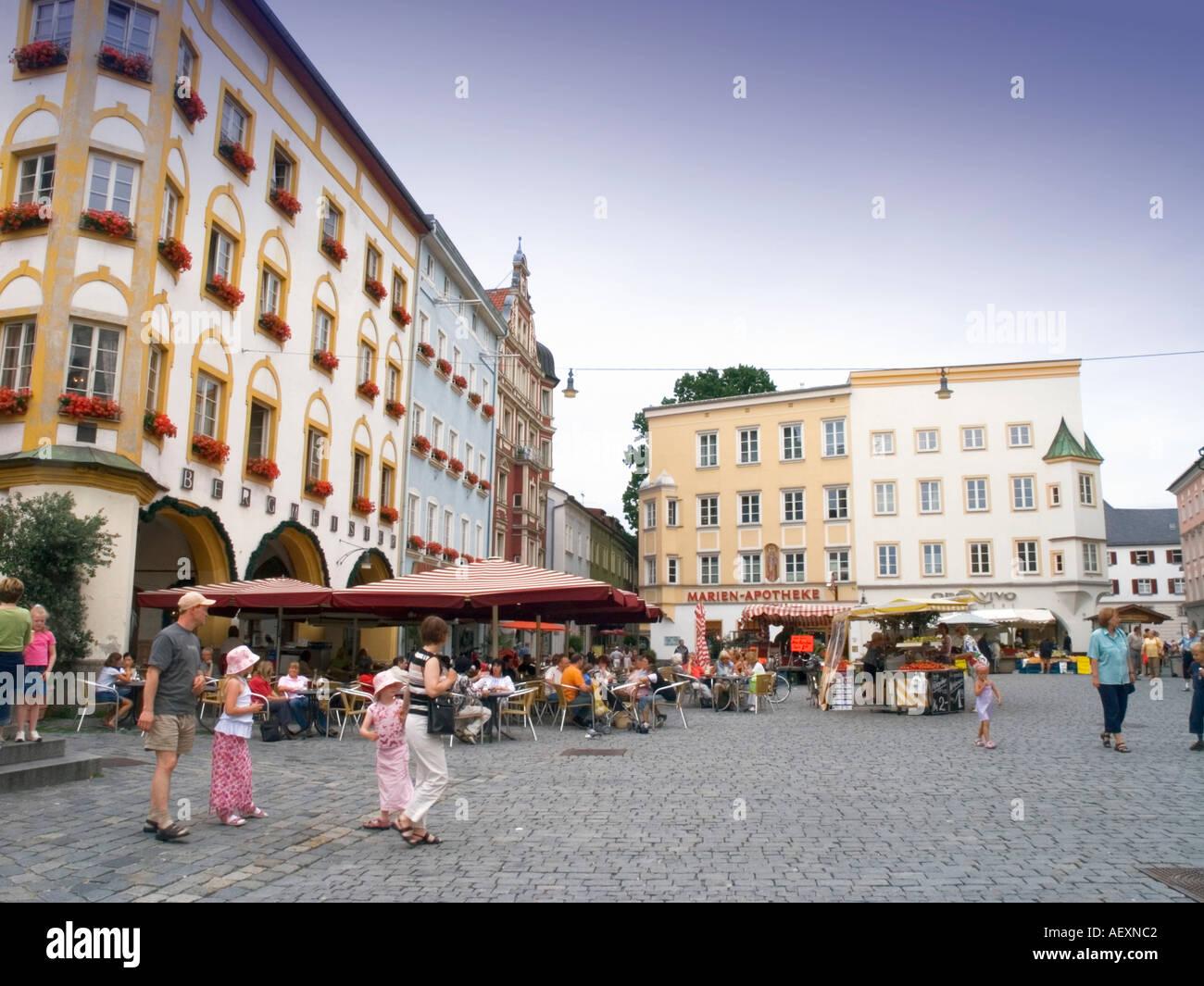 Architekt Rosenheim rosenheim marktplatz maket legen sie quadratische oberbayern bayern
