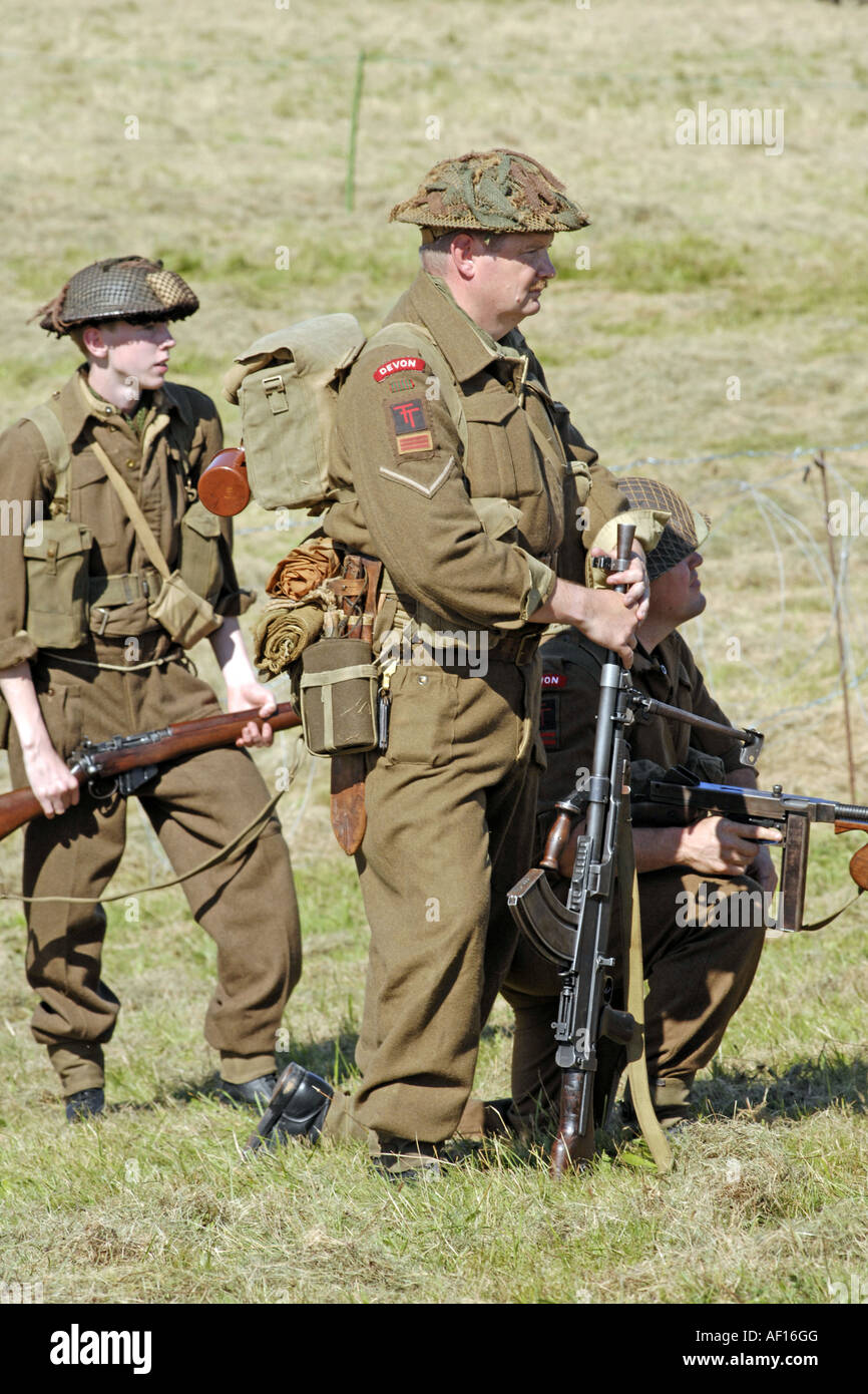 Britische Armee Männer
