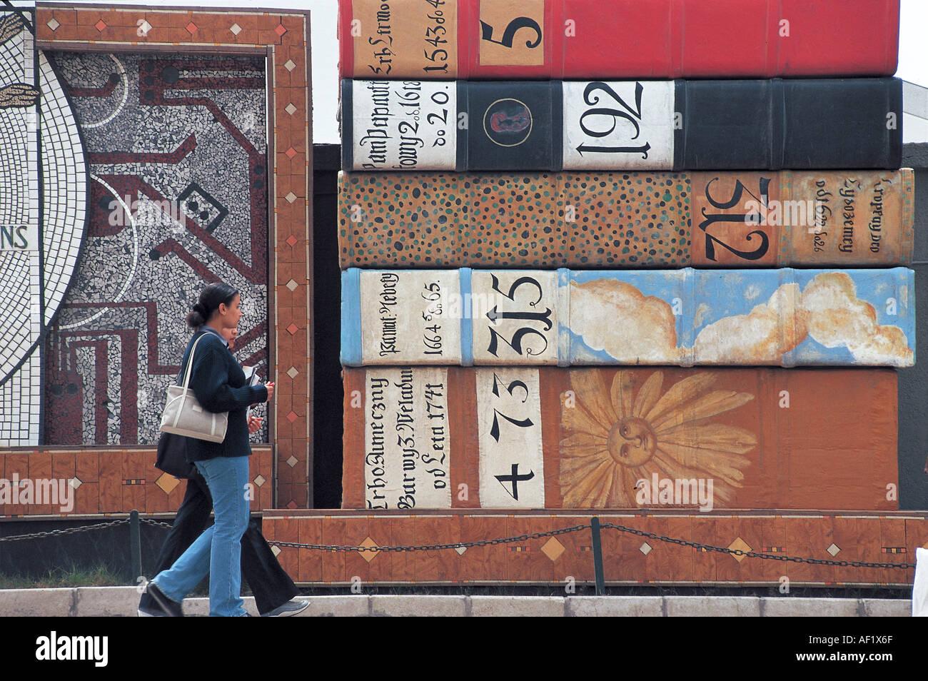 Alexandria alte Bücher aus Katalonien in der Nähe der Bibliothek Stockbild