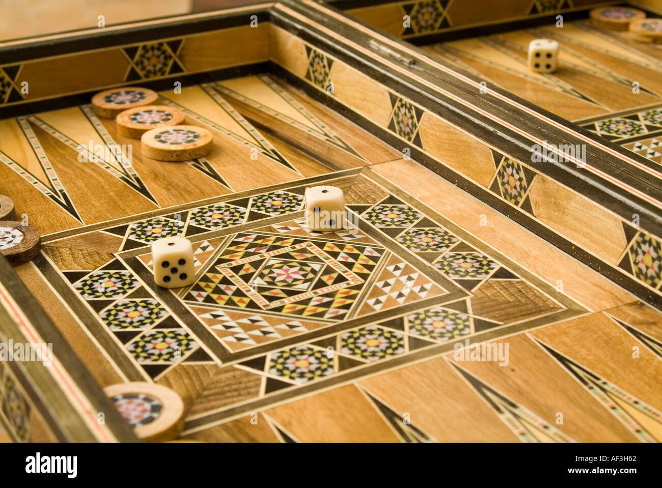 Backgammon Spiel Holz