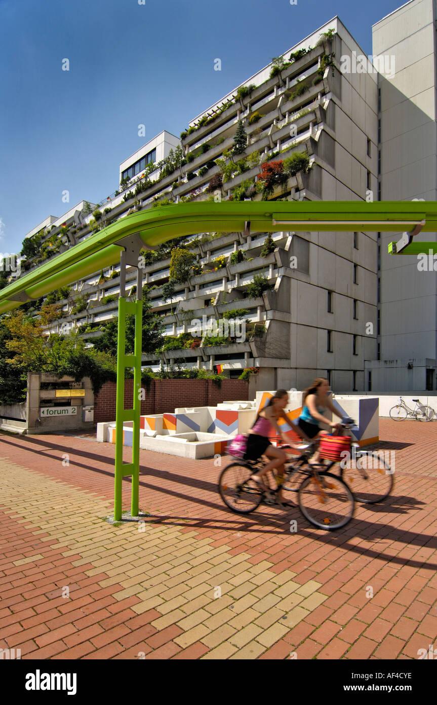 High Rise Wohnungen Olympiadorf Olympia Dorf München Stockfoto Bild