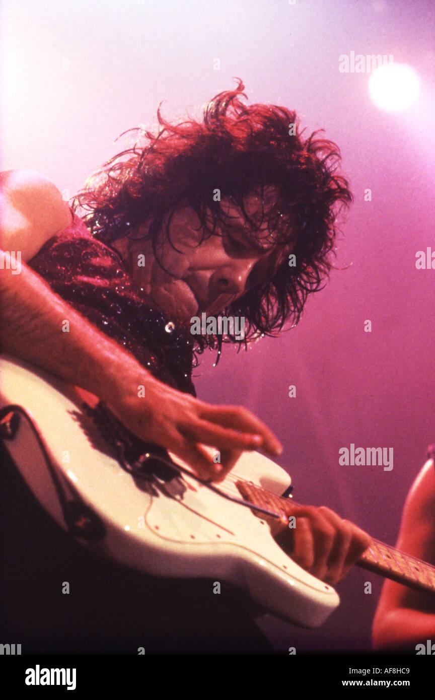 Gitarrist GARY MOORE UK Stockbild