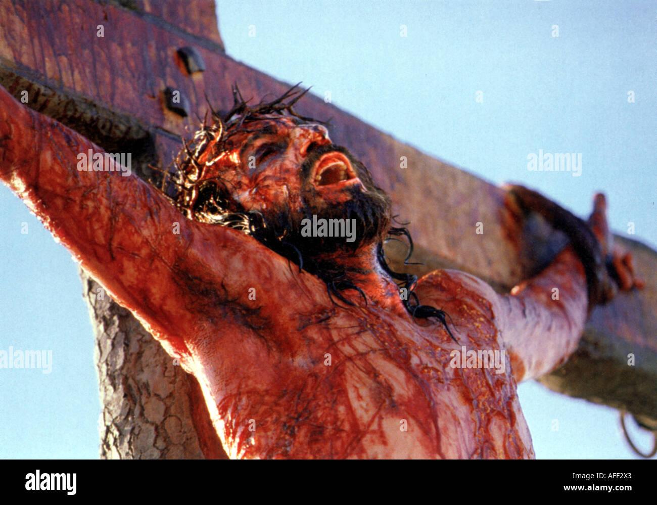 DER Leidenschaft von Christus 2004 Icon Film von Mel Gibson mit James Caviezel als Jesus Stockbild