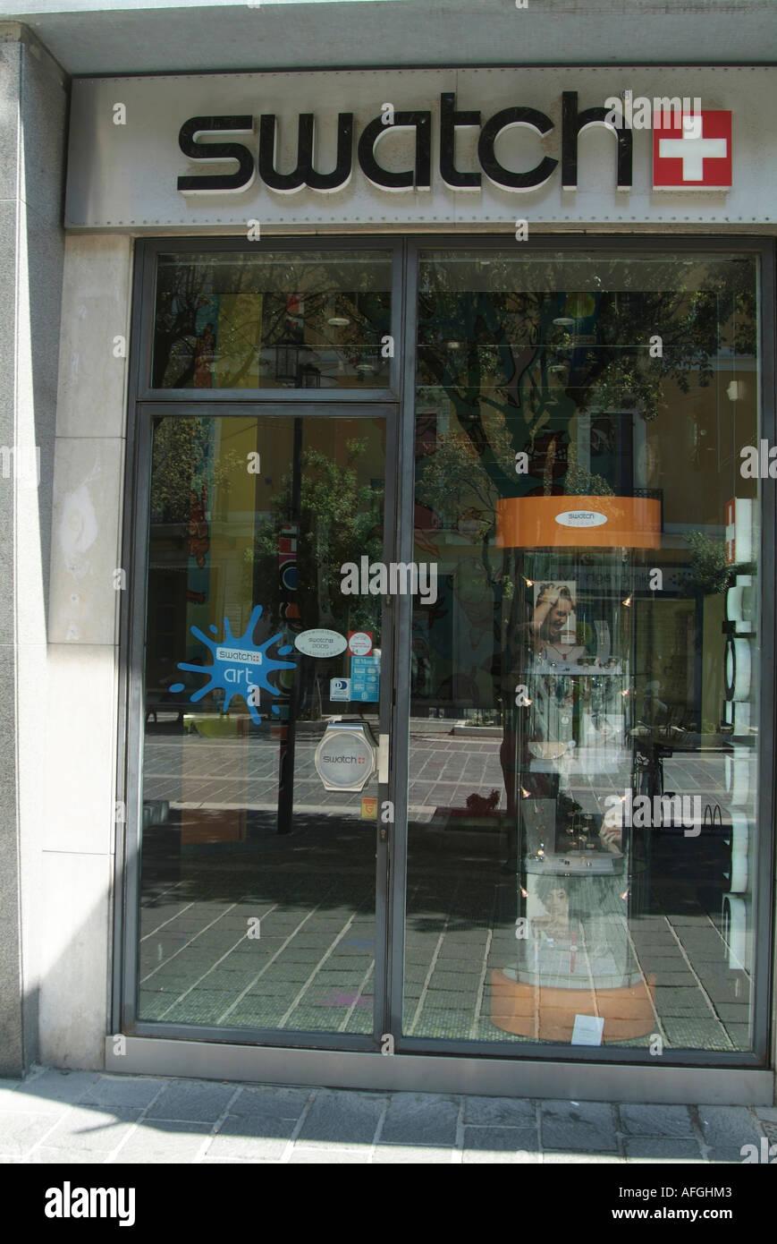 Swatch Uhr Shop Swiss Schweiz Handgelenk Mode Designer
