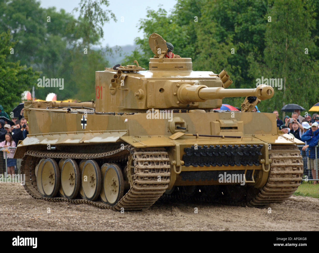 tiger panzer t131 deutsch stockfoto bild 7967303 alamy. Black Bedroom Furniture Sets. Home Design Ideas