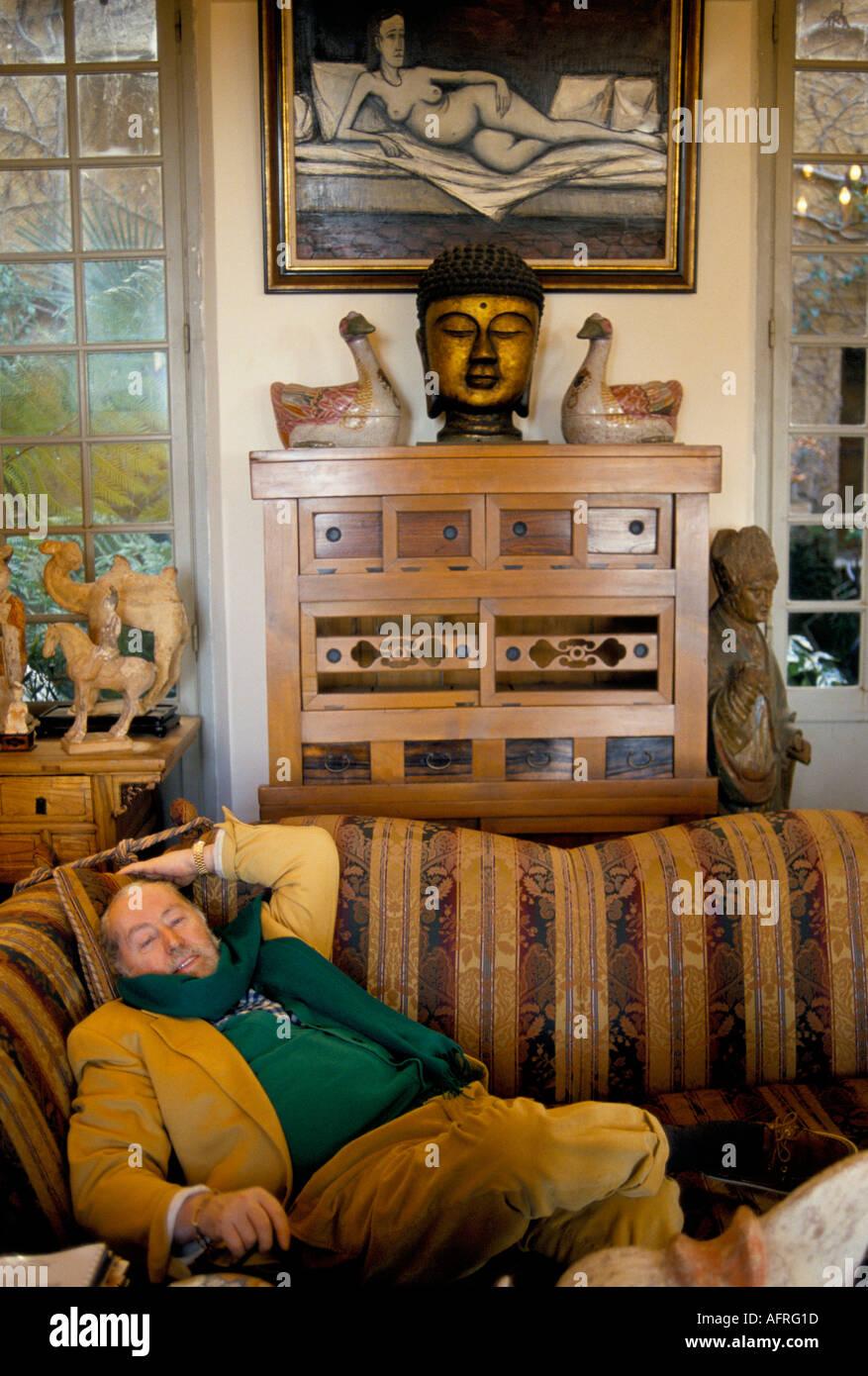 bernard buffet portrait artist stockfotos bernard buffet. Black Bedroom Furniture Sets. Home Design Ideas