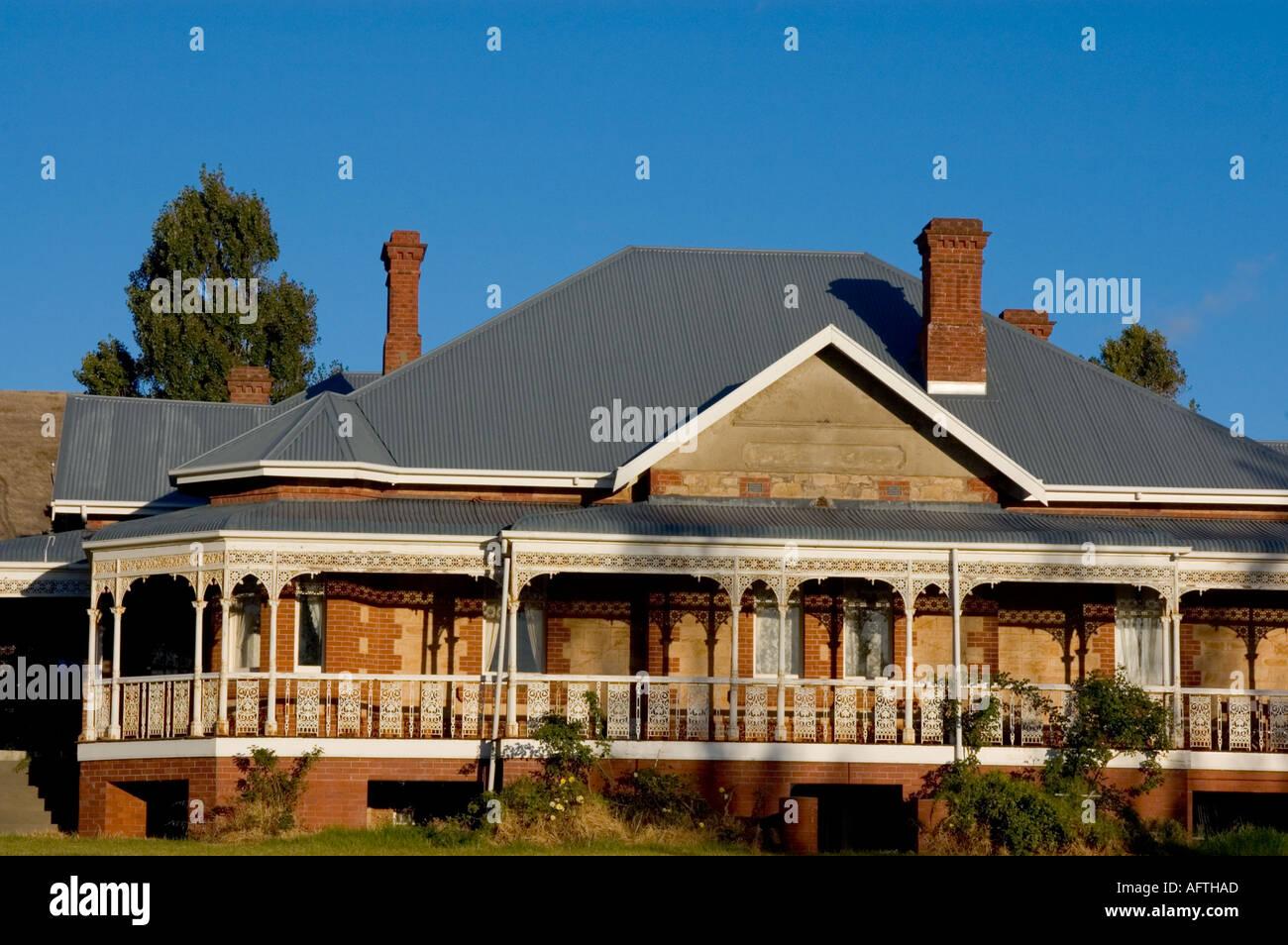 Australien, South Australia, Homestead, McLaren Vale Stockbild
