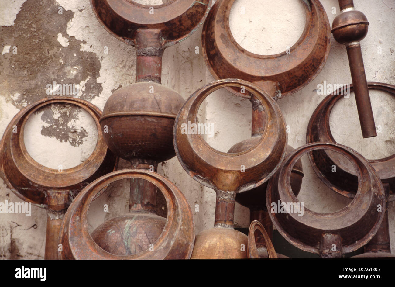 libyen libyen halfmoon halbmonde als dekoration für eine moschee