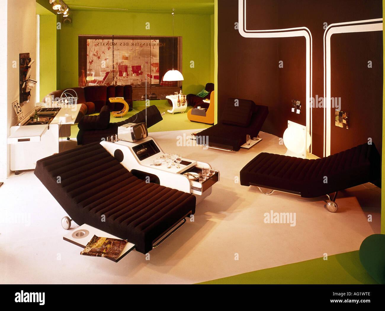 Einrichtung, Wohnzimmer, Sessel, Stuhl, tv, Hausbar, Tisch ...