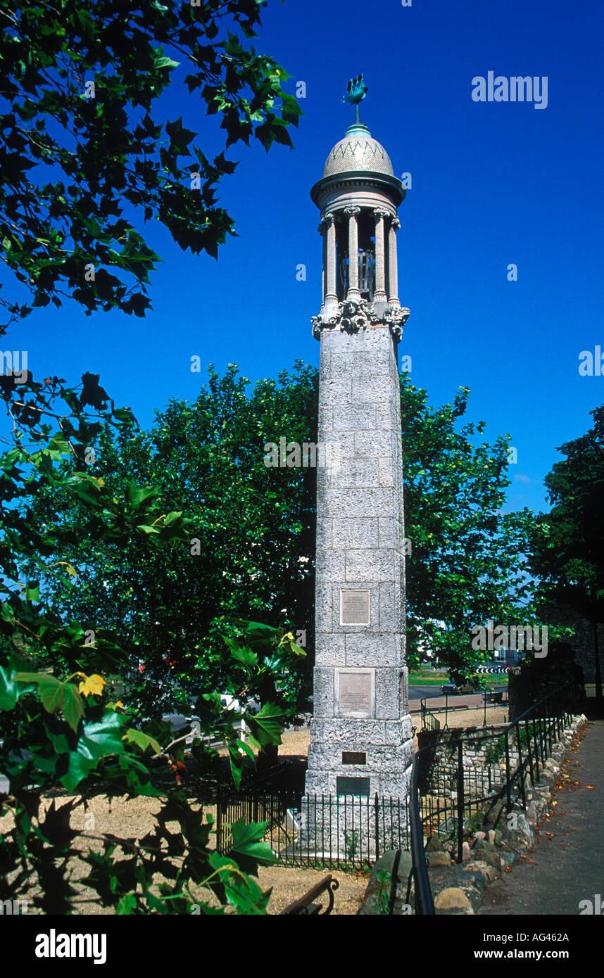 Pilgerväter Mayflower Memorial Southampton Hampshire England Stockbild