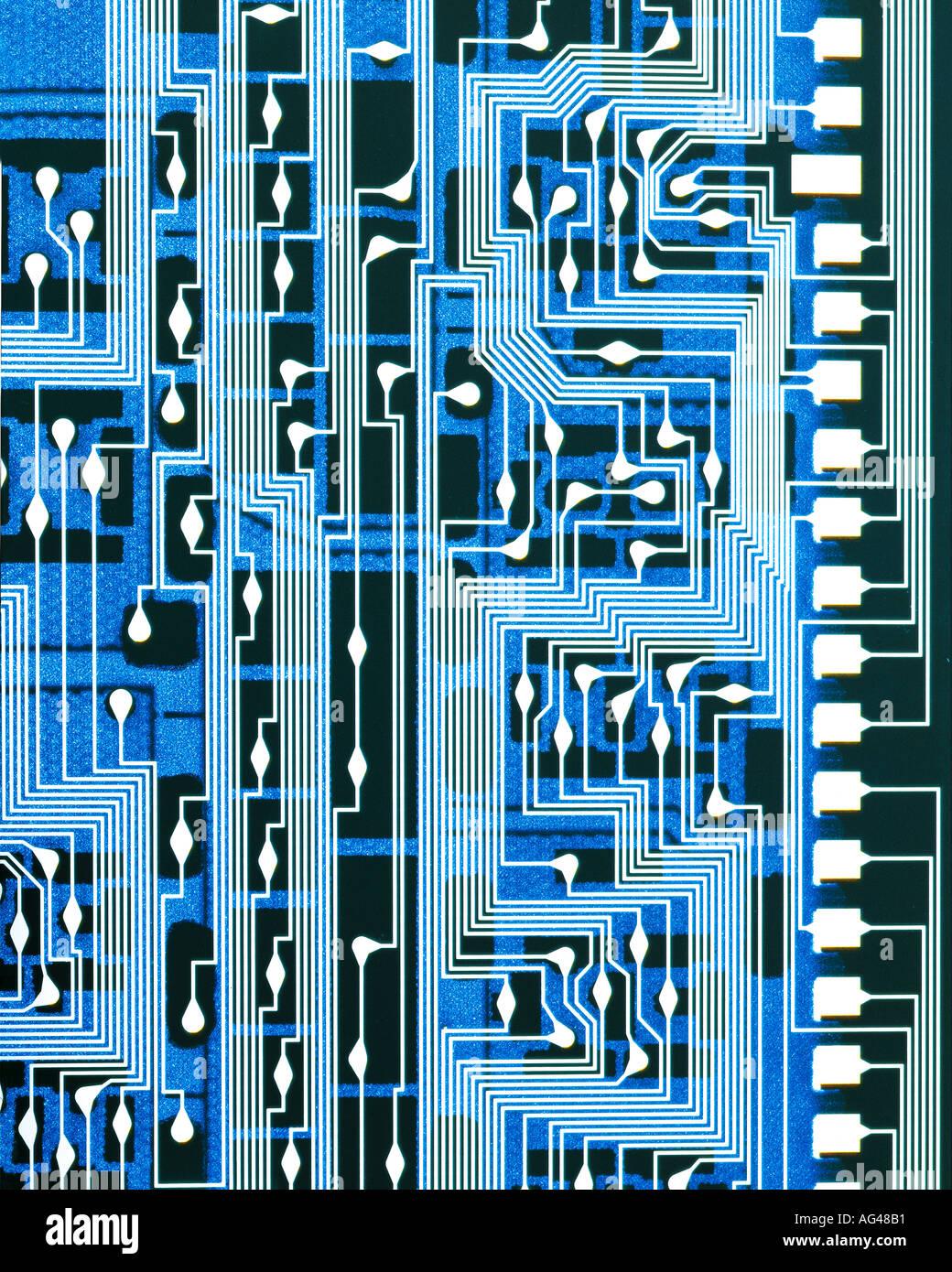 Elektronikplatine Stockbild