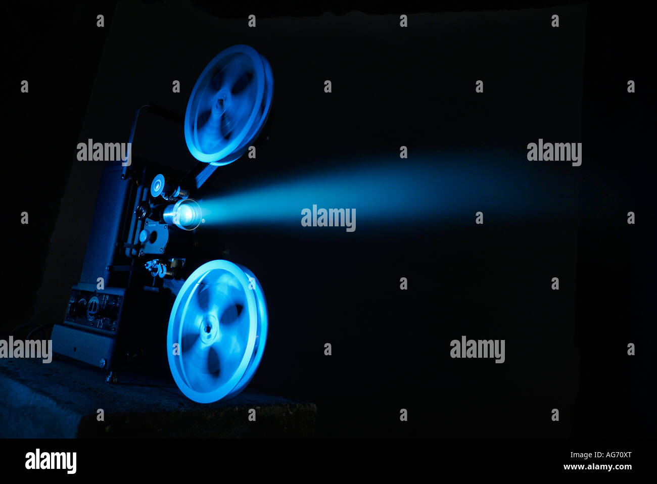 Projektor Stockbild