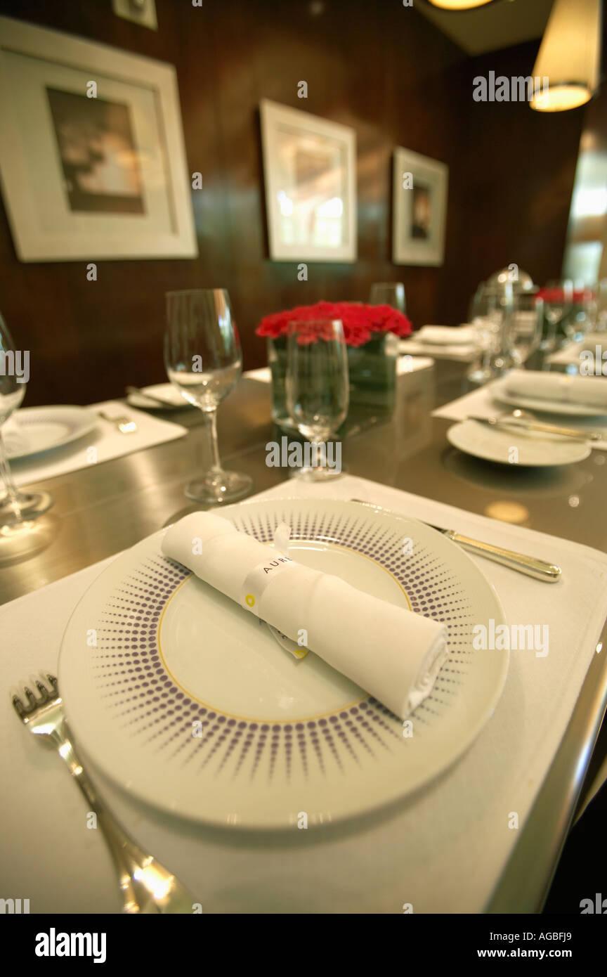 Aureole Restaurant im Mandalay Bay, Las Vegas, Nevada Stockbild