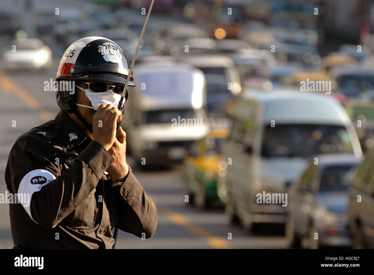 Verkehrspolizei, Bangkok, Thailand Stockfoto, Bild: 8097126 - Alamy