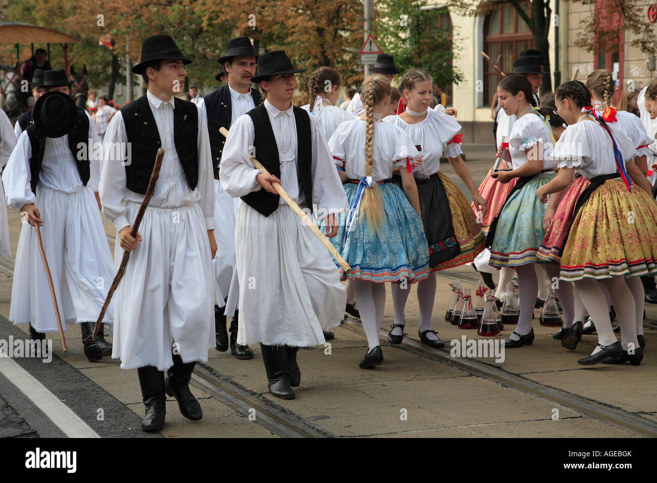 ungarn debrecen blumen karneval festival folklore menschen stockfoto bild 14184882 alamy. Black Bedroom Furniture Sets. Home Design Ideas