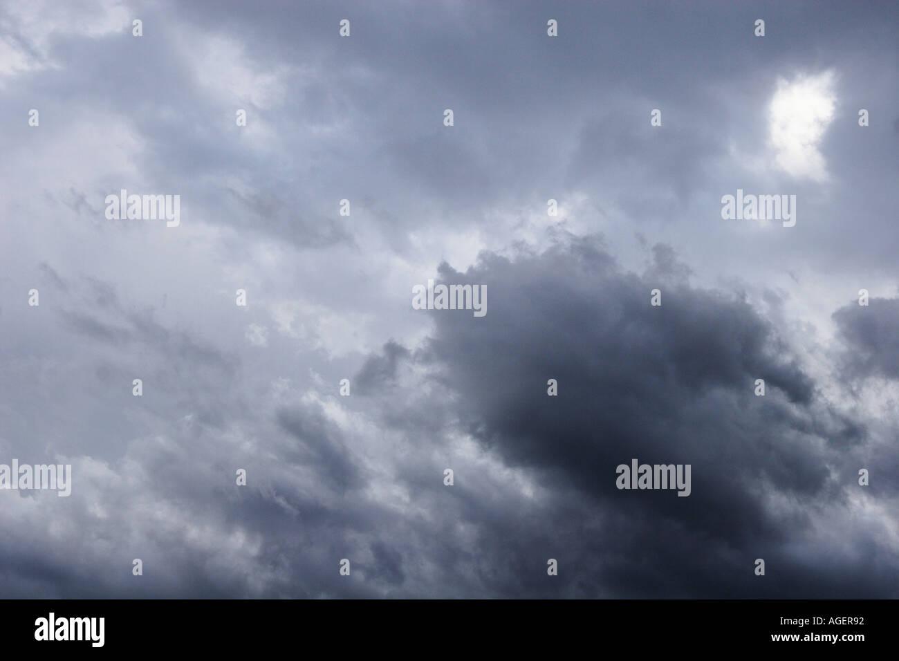 blauer Tempest Storm kostenlos grauen Himmel Wolke Regenwolken ...