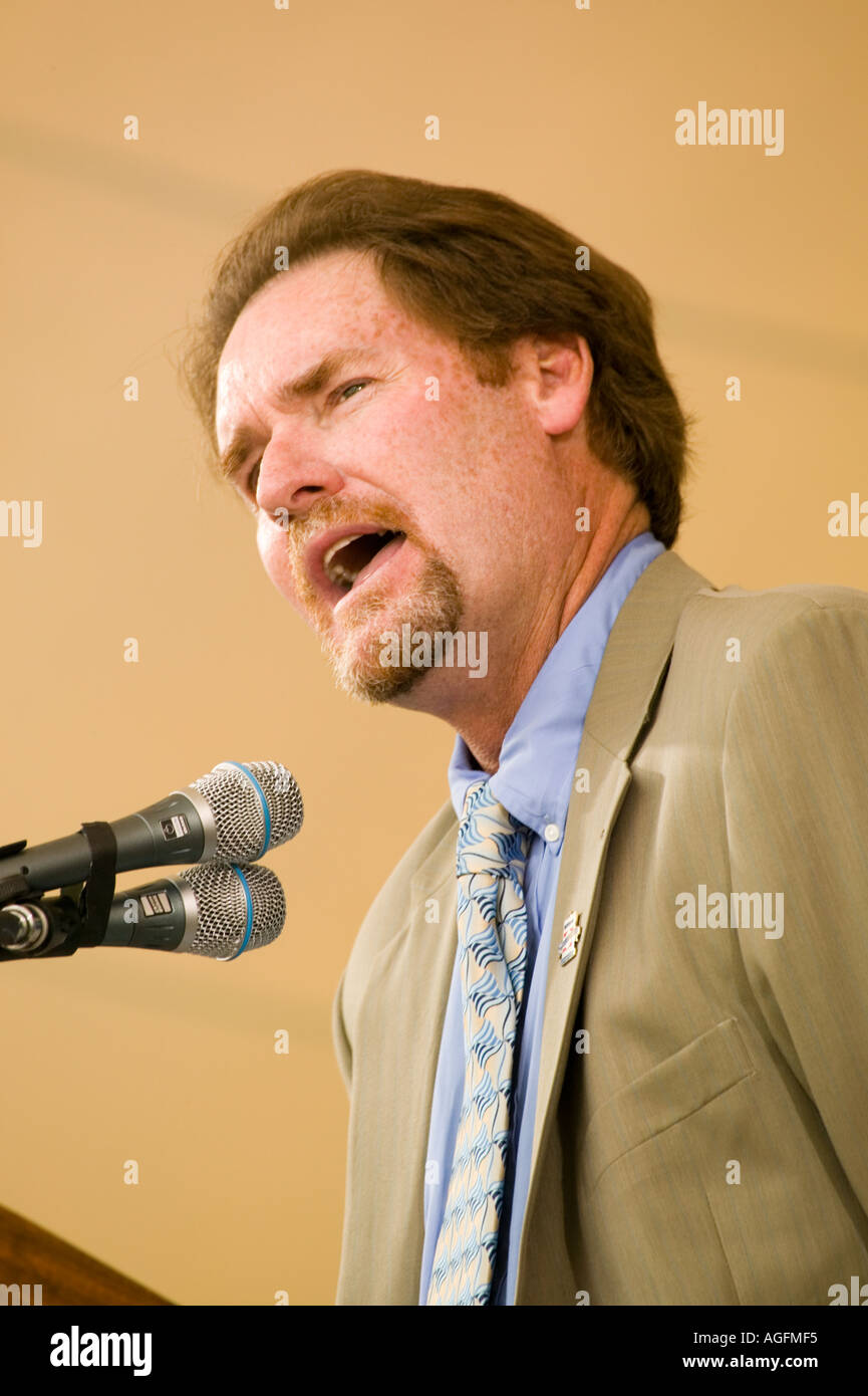 Wade Boggs in Baseball Hall Of Fame Cooperstown New York aufgenommen Stockbild