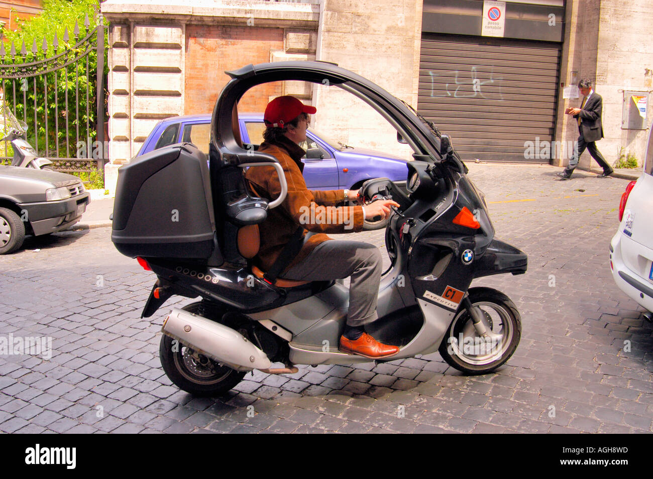 Moped Mit Dach