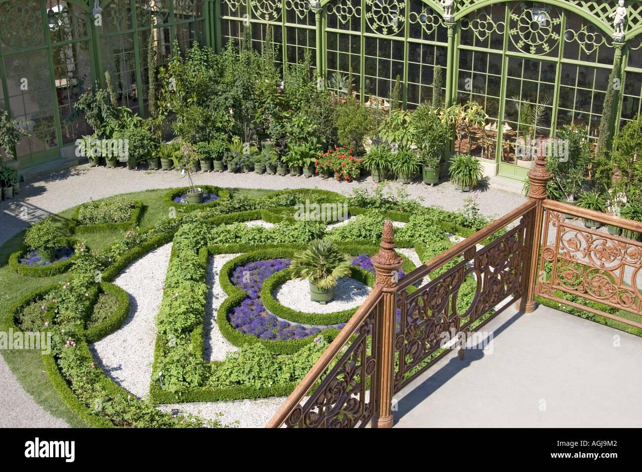 Deutschland Mecklenburg Vorpommern Orangerie Im Palast Garten