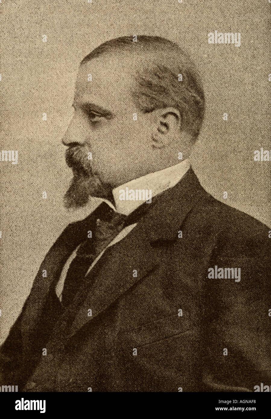 Henryk Sienkiewicz, 1846-1916. Polnische Schriftsteller Sieger von 1905 Nobelpreis für Literatur Stockbild