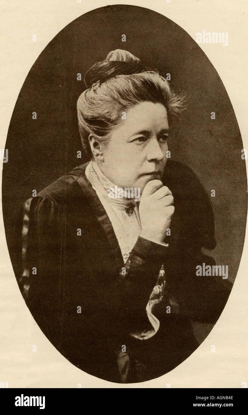 Selma Ottilia Lovisa Lagerlöf, 1858-1940. Schwedische Autorin, Lehrerin und Nobelpreisträger für Literatur im Jahre 1909. Stockbild