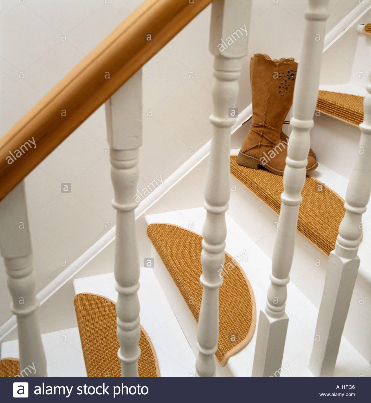 Teppich Stufen auf Treppe Stockfoto, Bild: 8186949 - Alamy