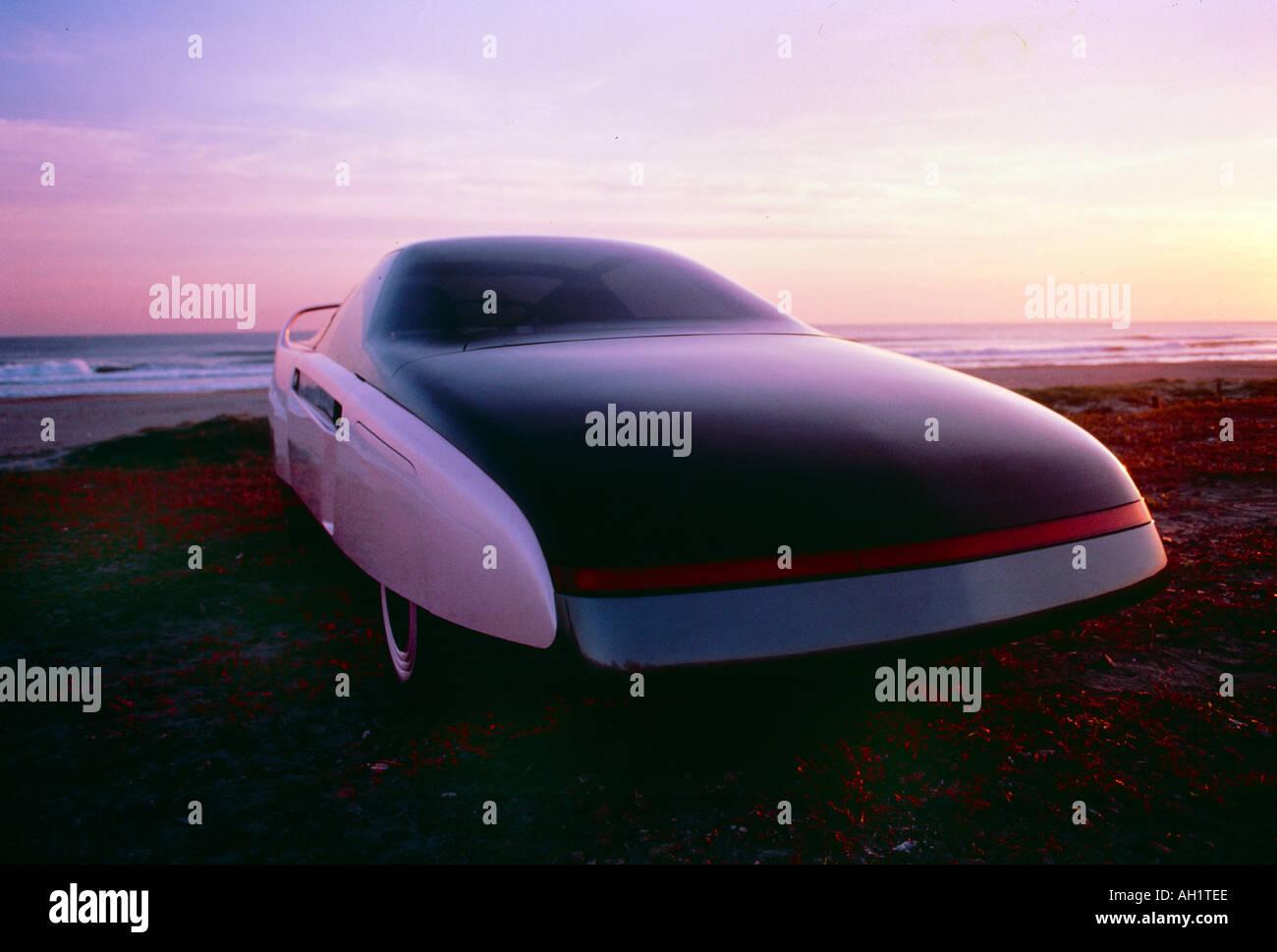 Futuristisches Concept Car Stockbild