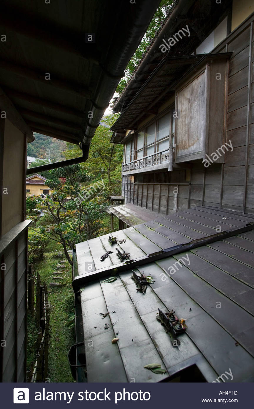 Mukaitaki traditional japanese inn hospitality stockfotos for Traditionelles japanisches hotel