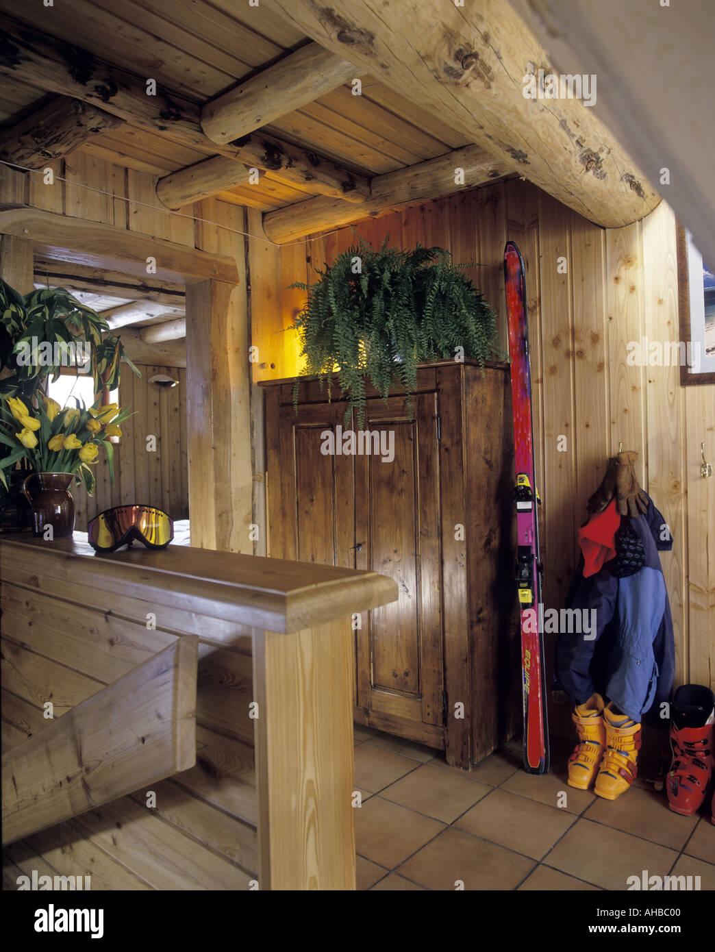 Ski Chalet Interior Stockfotos & Ski Chalet Interior Bilder - Alamy