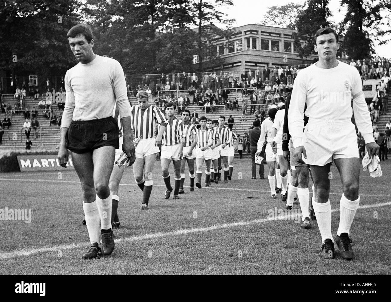 Fussball Internationale Jugendklasse Turnier 1965 Real