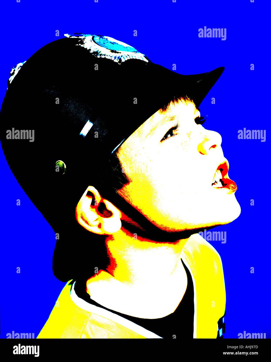 junges Kind verkleidet, wie ein Polizist Kind Kinder Kinder, die ...