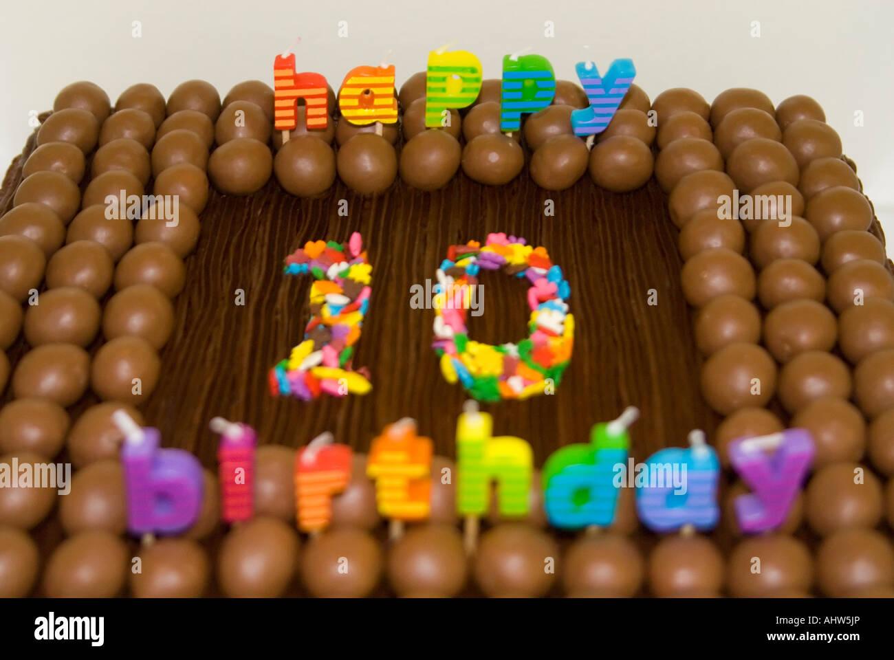 Horizontale Nahaufnahme Eines Kindes 10 Geburtstag Kuchen Mit
