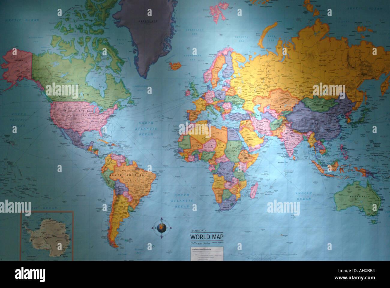 russia america map stockfotos russia america map bilder alamy. Black Bedroom Furniture Sets. Home Design Ideas