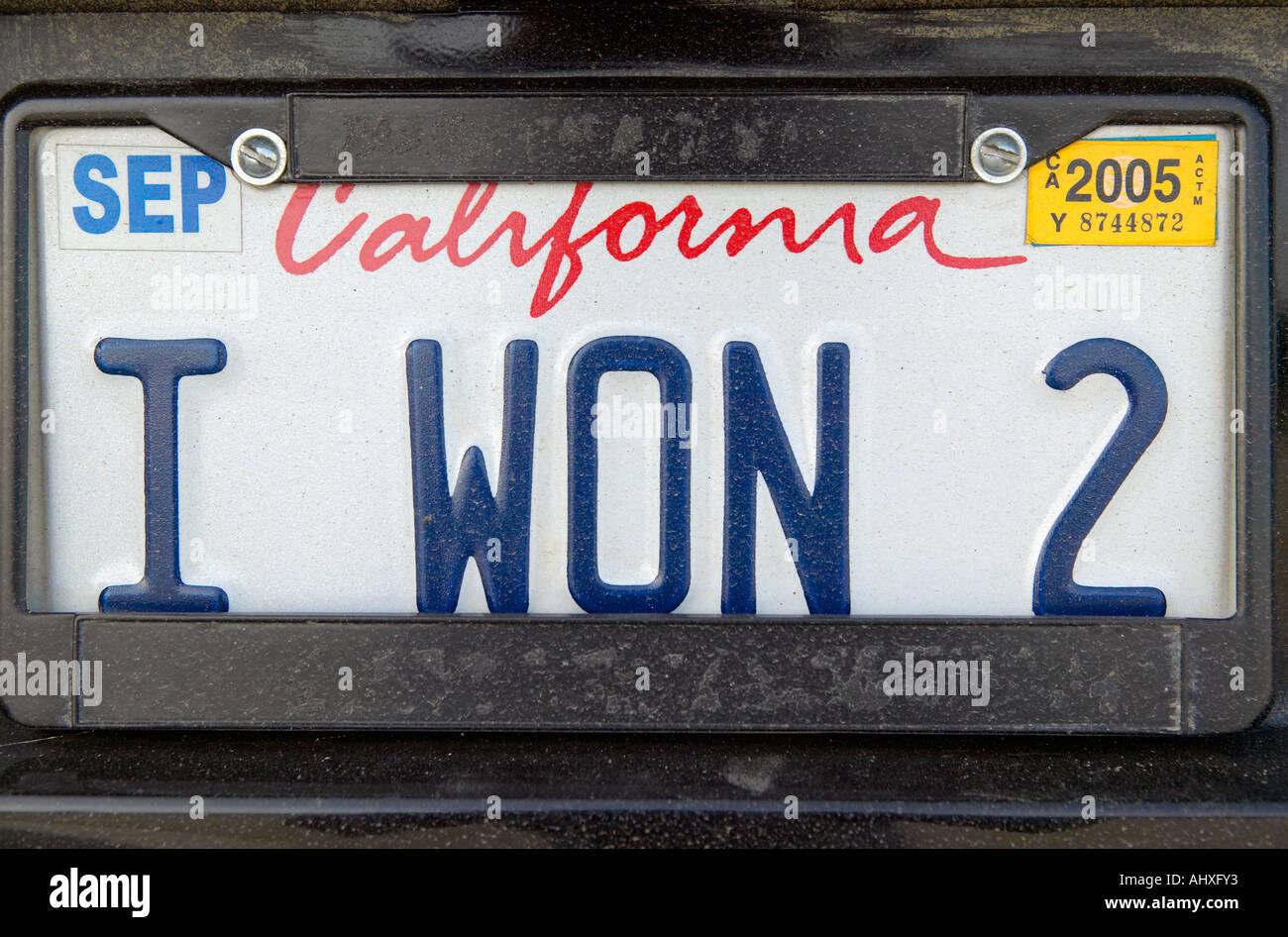 California License Plate Stockfotos & California License Plate ...