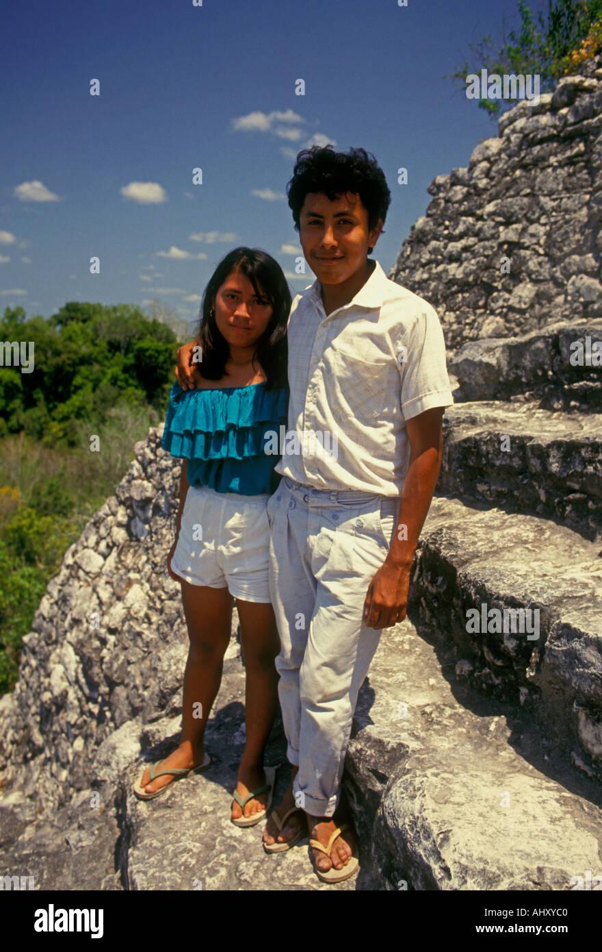 Teenager-Paar Amateur mexikanischen Sabi (Sabine1234567)