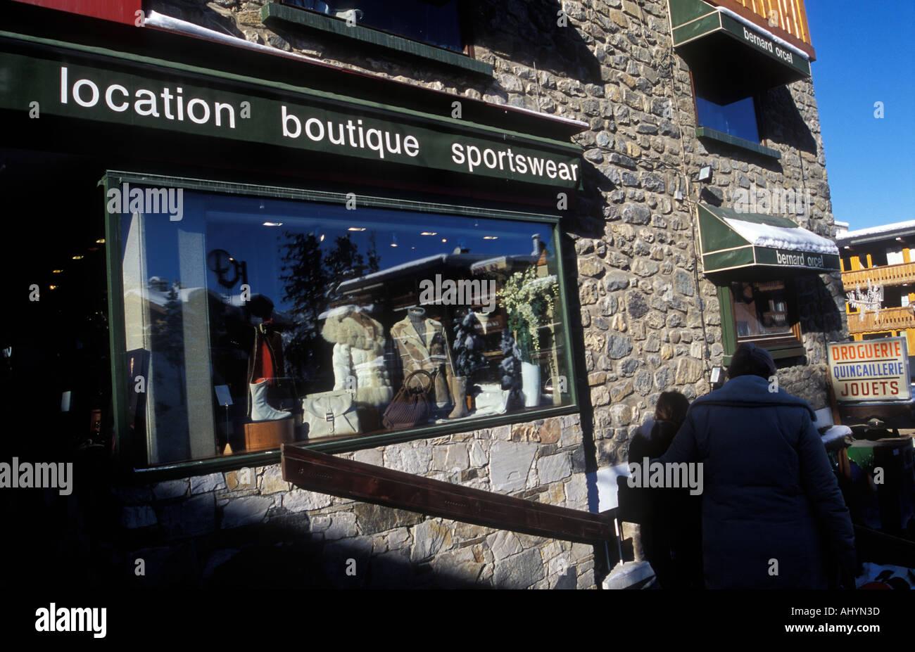 1850 Ski Sportbekleidung Und Courchevel Alpen Shop Französische wIHrqnIx