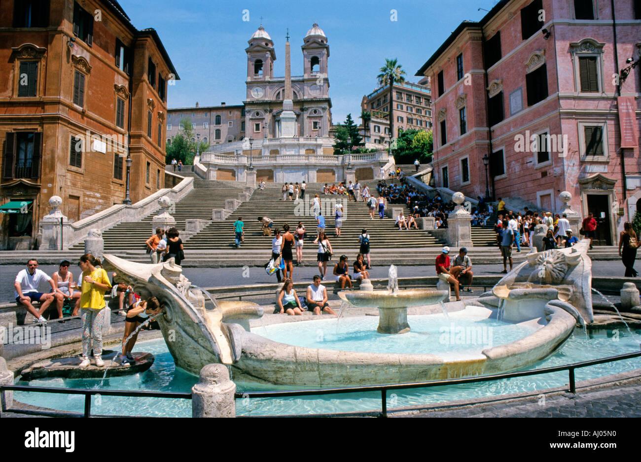 Italy Rome Map City