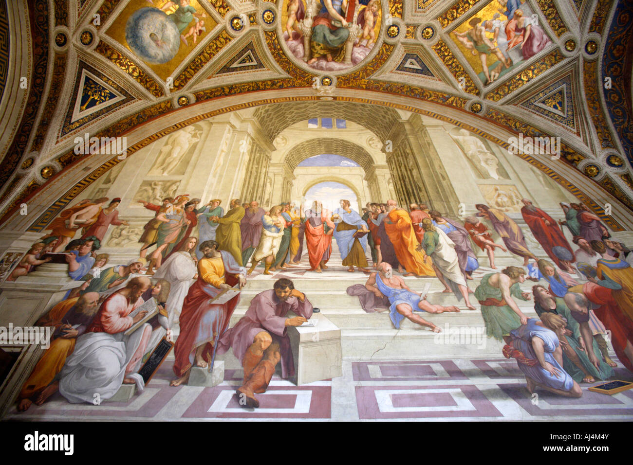 Famous Painting By Raphael Plato