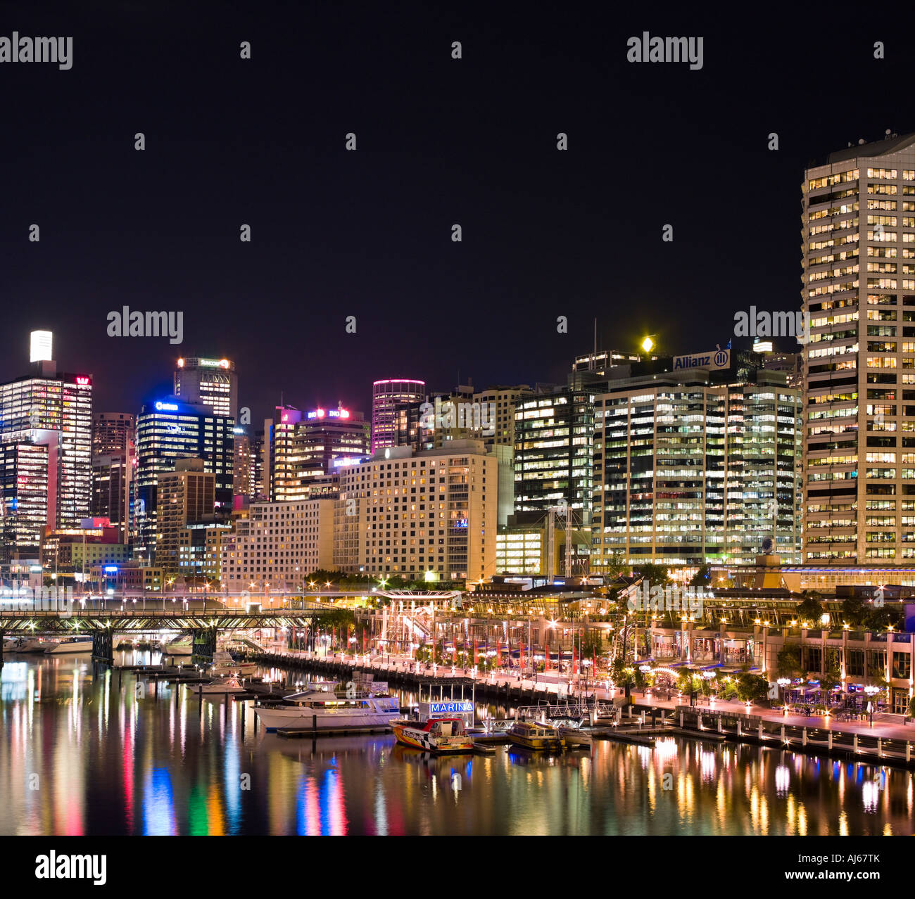 Darling Harbour Sydney Stockbild