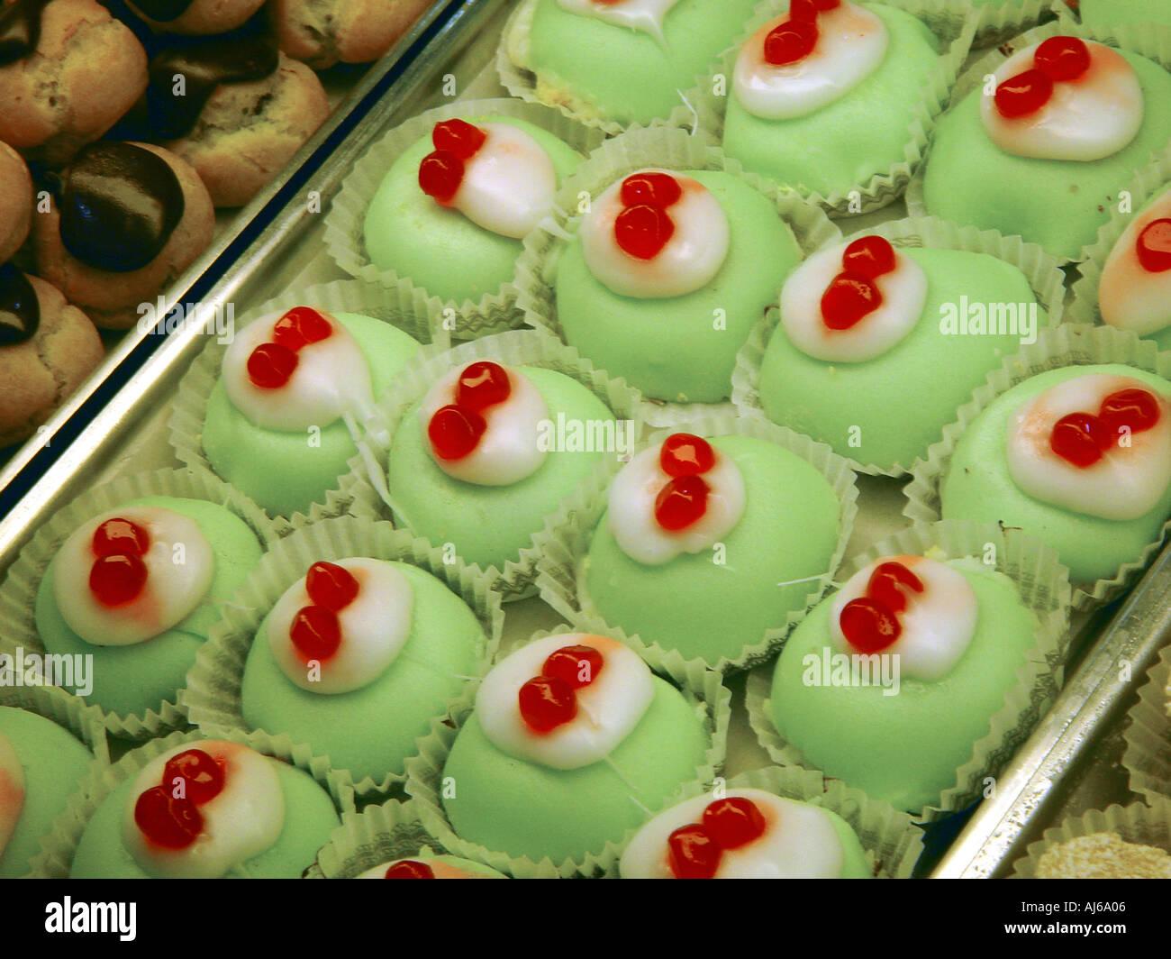 kleine kuchen muster in anzeigen italienischen caf shop rom italien - Kuchen Muster
