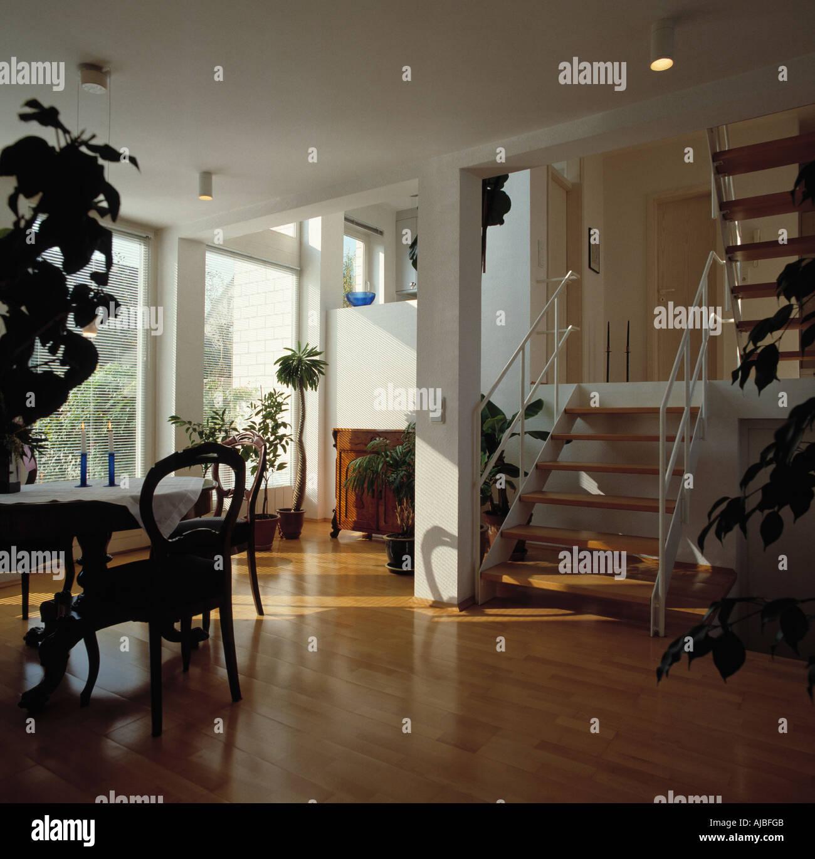 Kleine Doppelter Modernen In Holzböden Treppe Und Einfache Höhe y6g7IYfbv