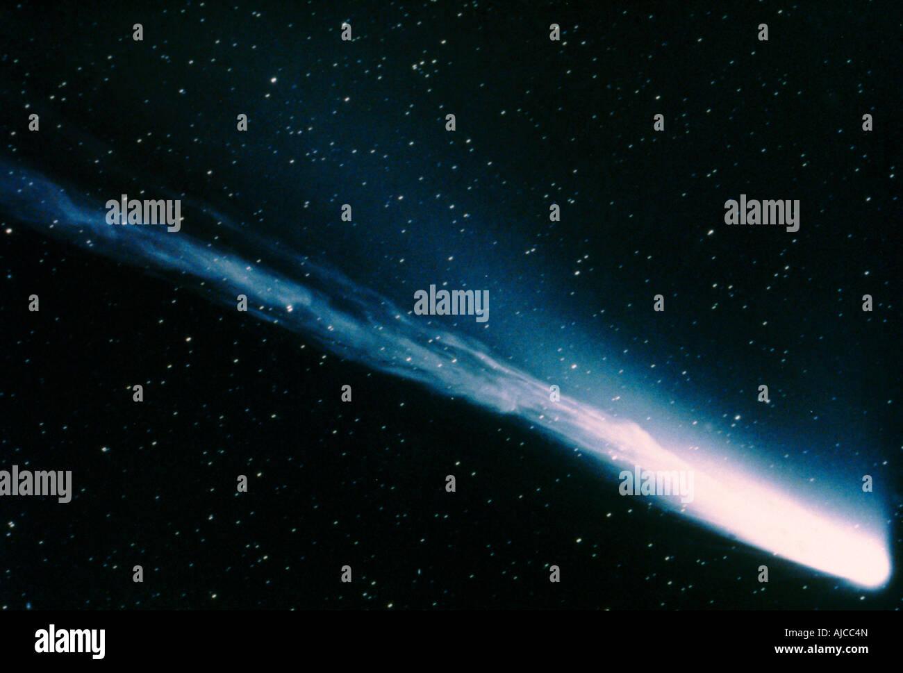 Komet Mrkos 57 Stockbild