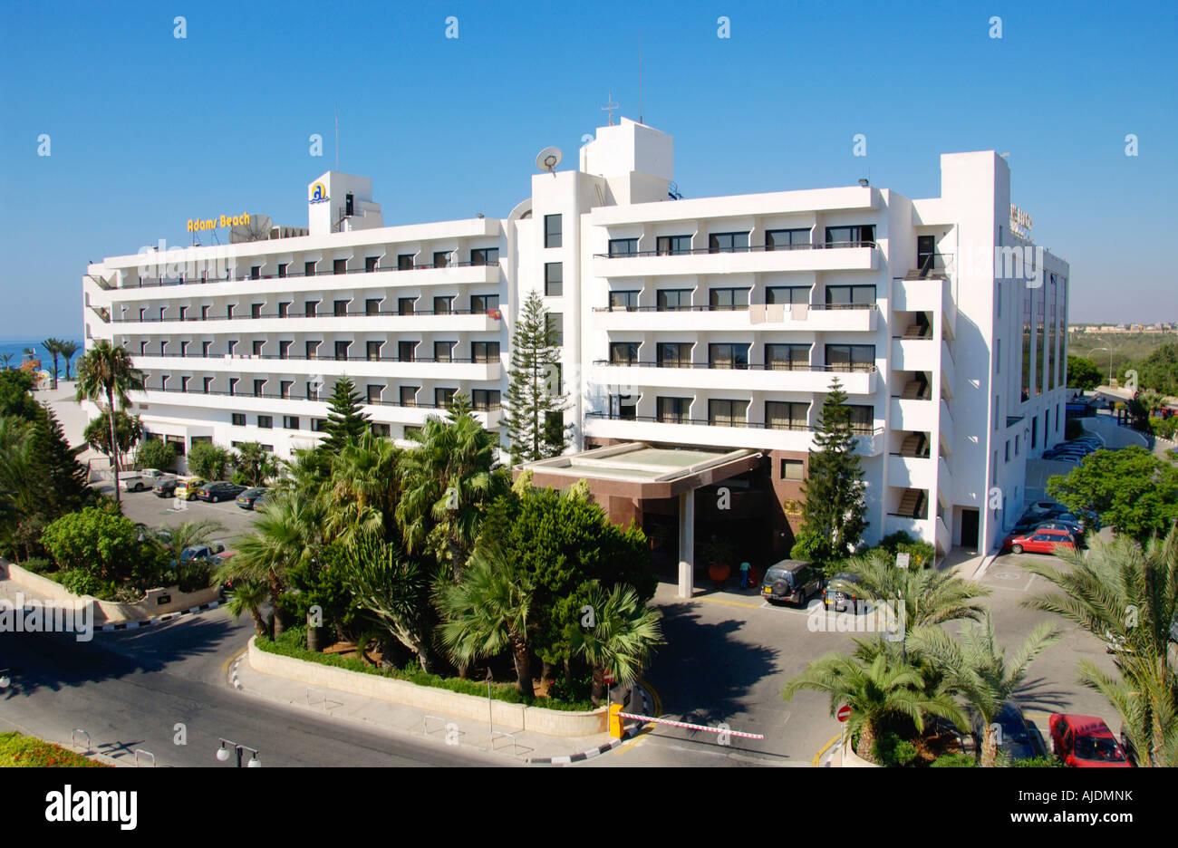 Au enseite des 5 sterne adams beach hotel ayia napa auf for Design hotels mittelmeer