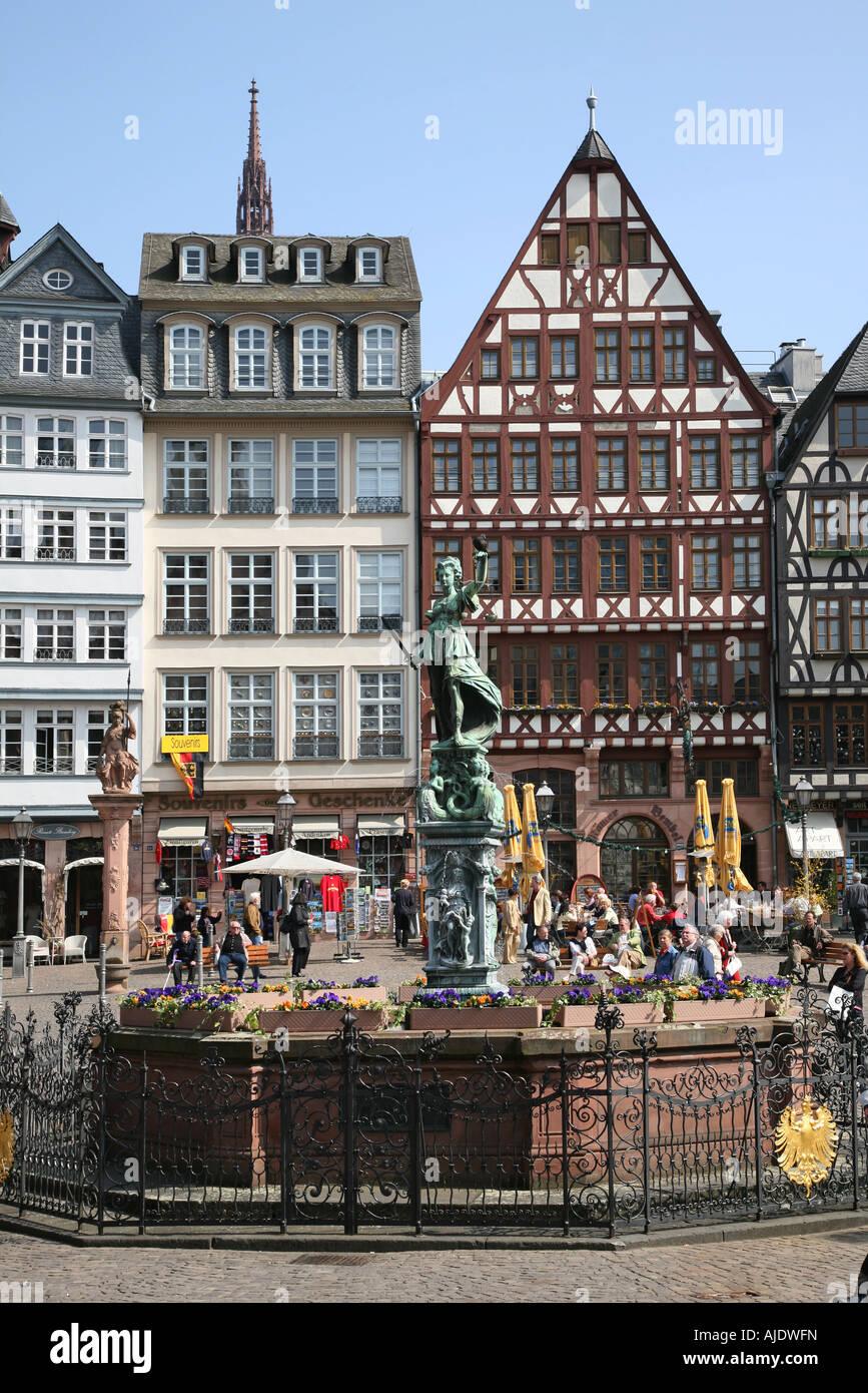 frankfurt am main roemer roemerberg justitia justiz gerechtigkeitsbrunnen gerechtigkeit. Black Bedroom Furniture Sets. Home Design Ideas