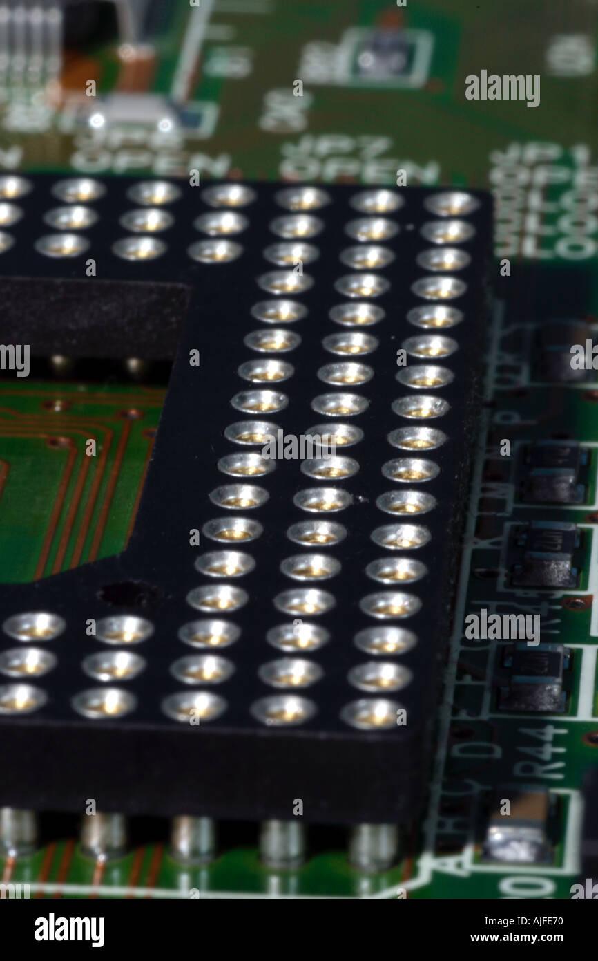 Computer Platine Stockbild