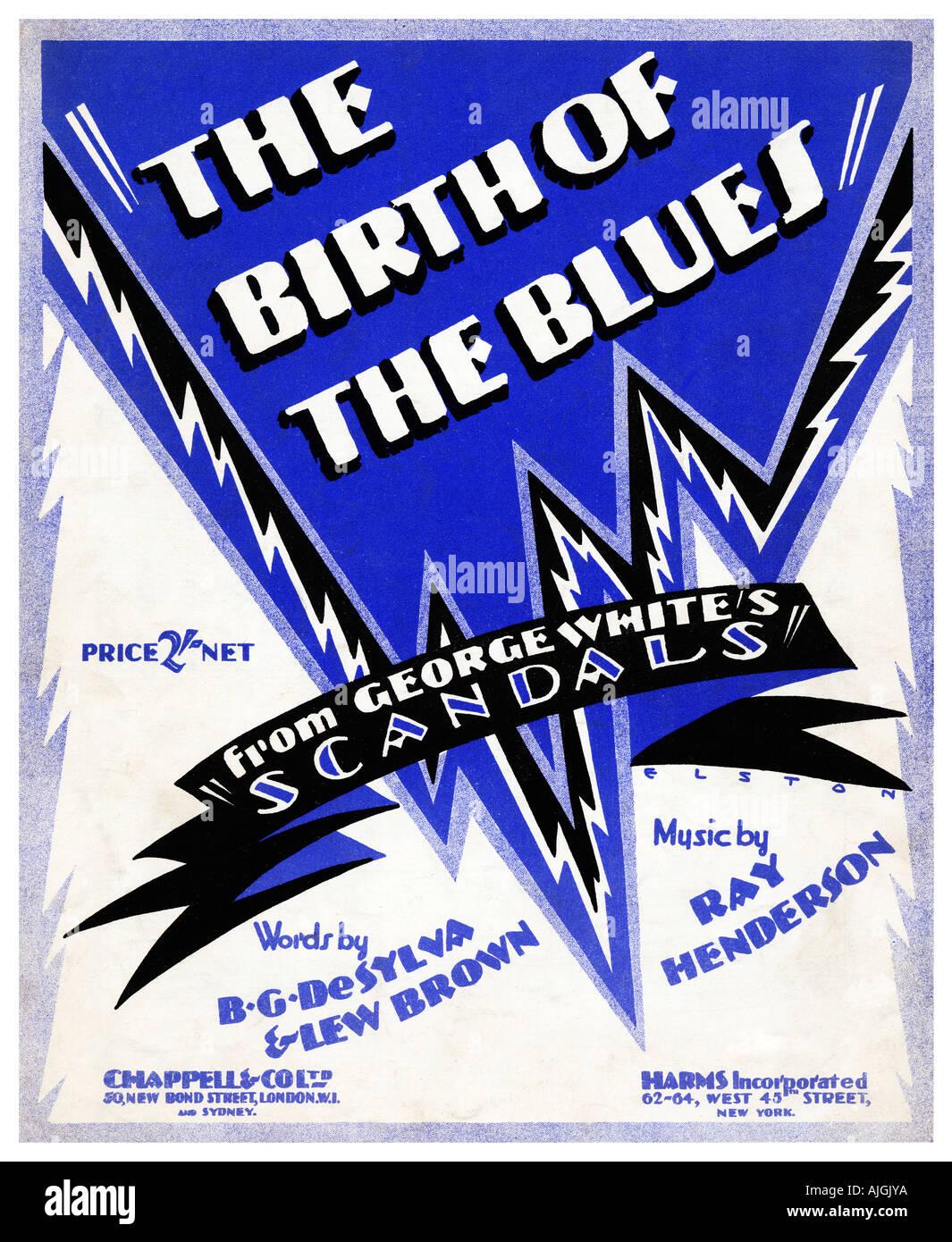 Blues Music 1920s Stockfotos & Blues Music 1920s Bilder - Alamy